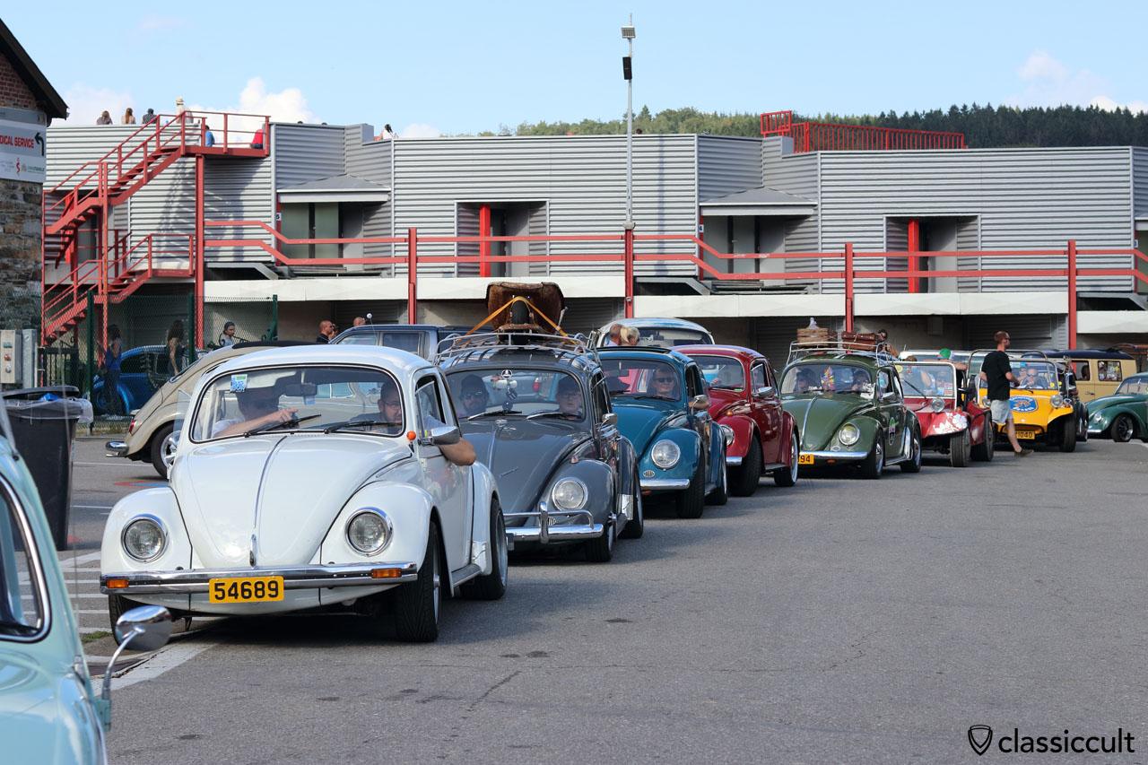 Bug Show Spa VW Beetle Parade 2016