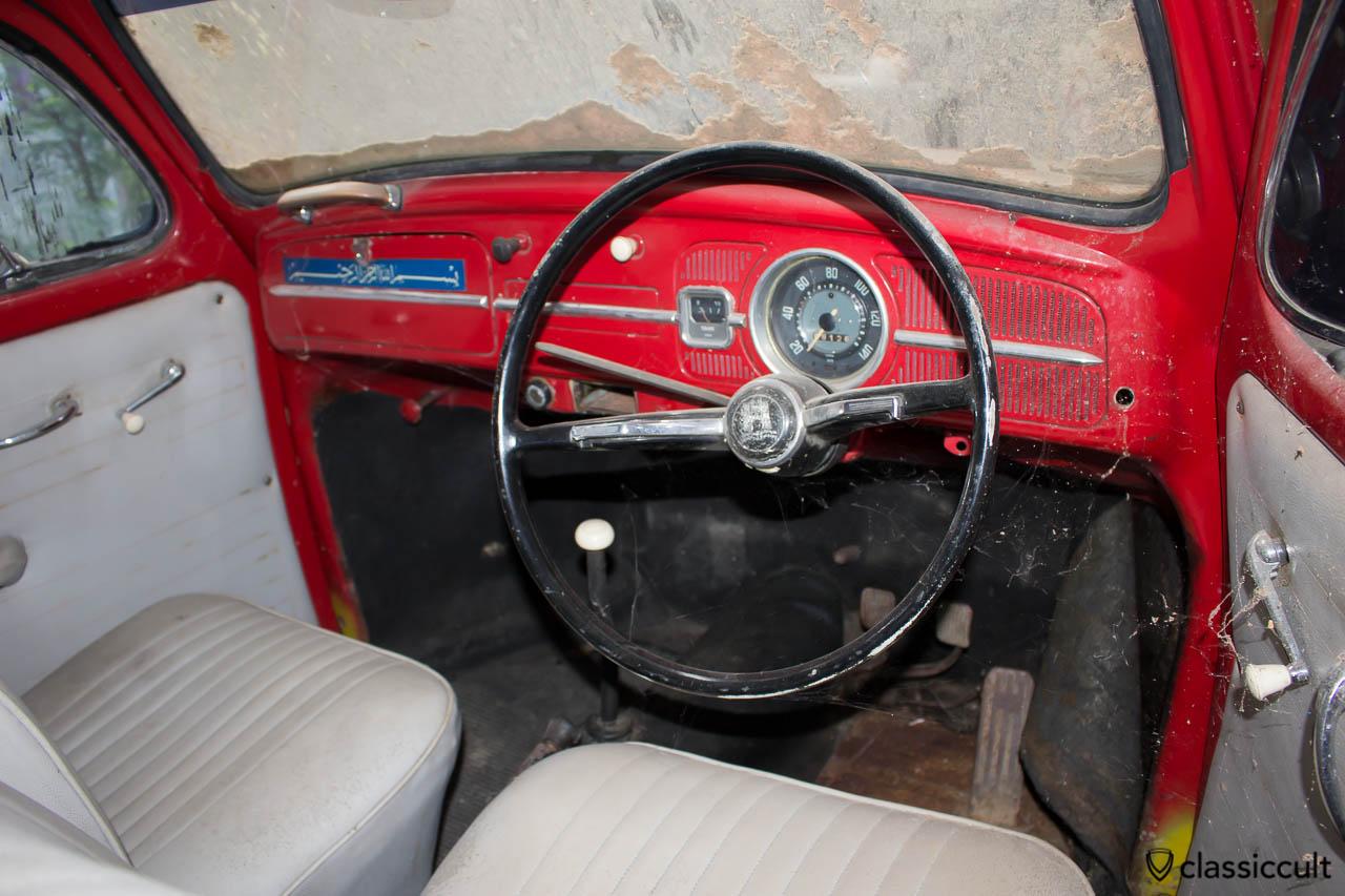 classic VW Beetle Banda Aceh - dash