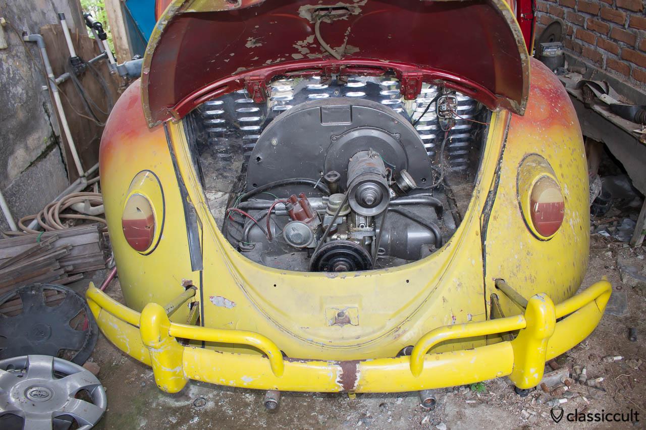 classic VW Beetle Banda Aceh - motor