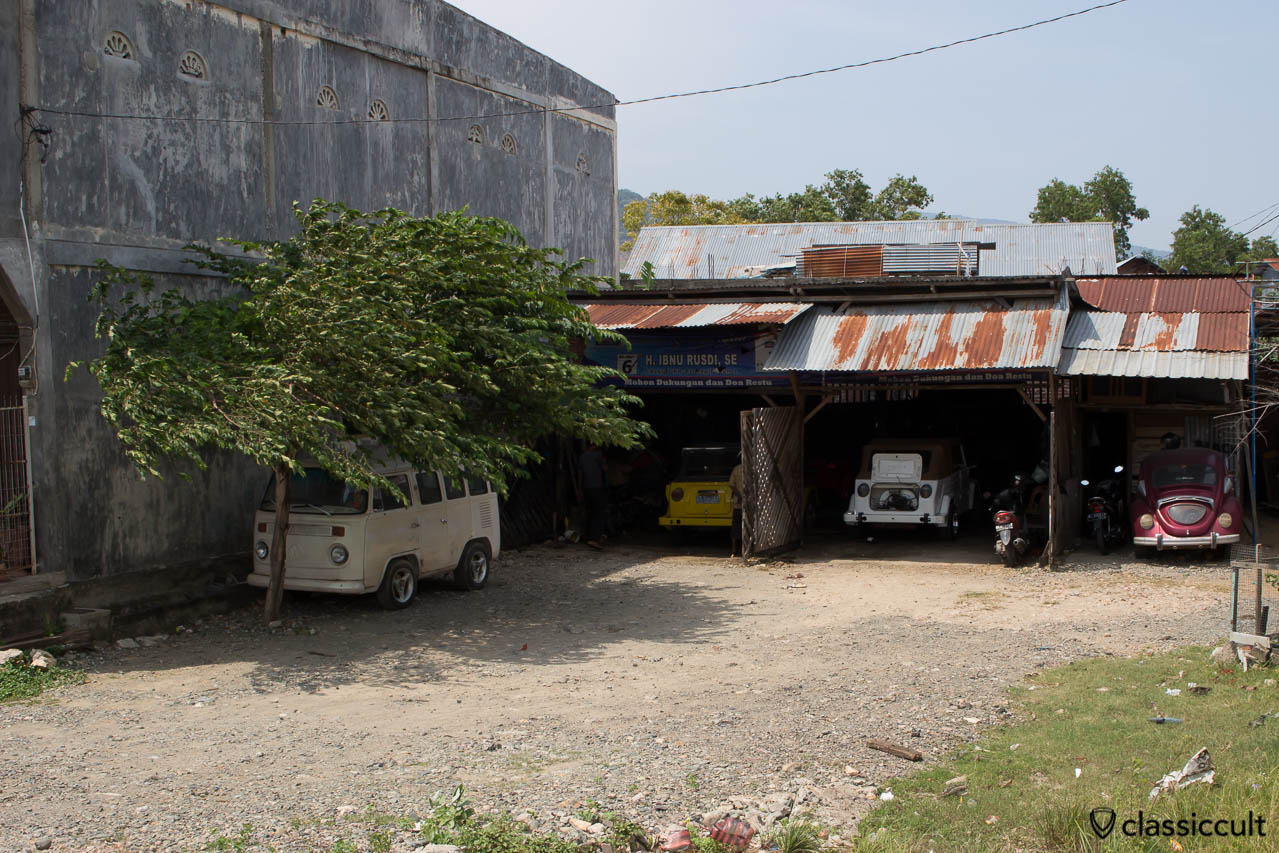 Classic VW Garage Banda Aceh Indonesia