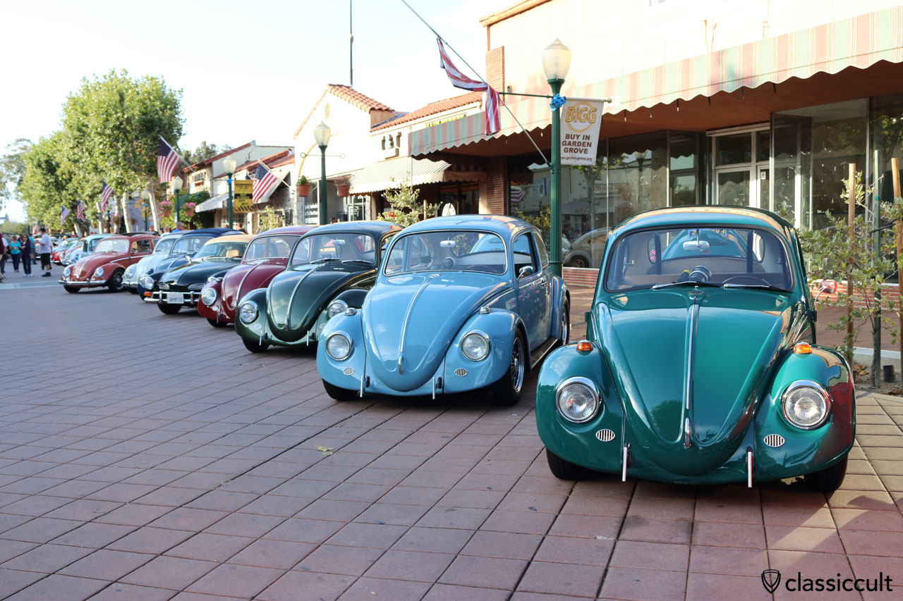 California Look VW Beetles, Main Street, Garden Grove, CA