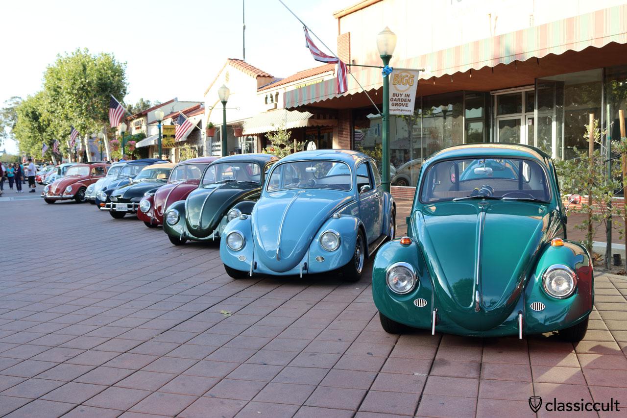 California Look VW Beetles, Main Street, Garden Grove, CA