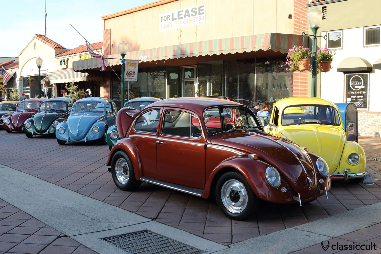 red Cal-Look VW Bug