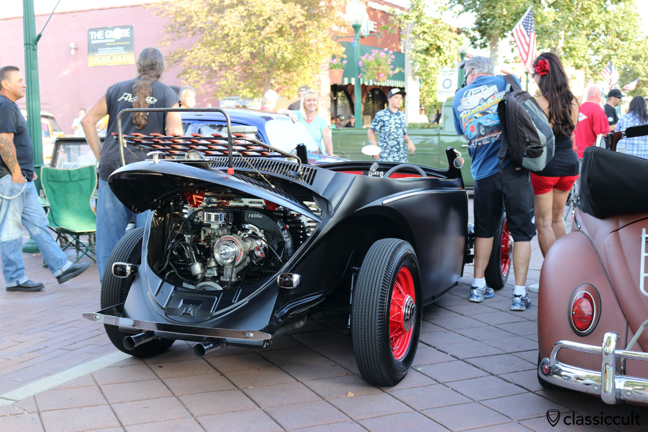custom VW Bug hot rod