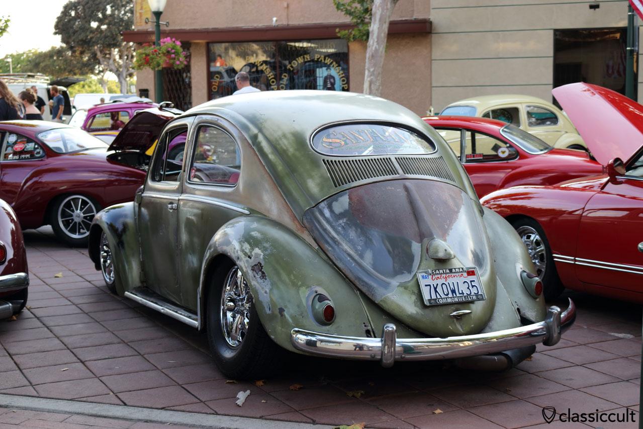 VW Oval with patina from Santa Ana California