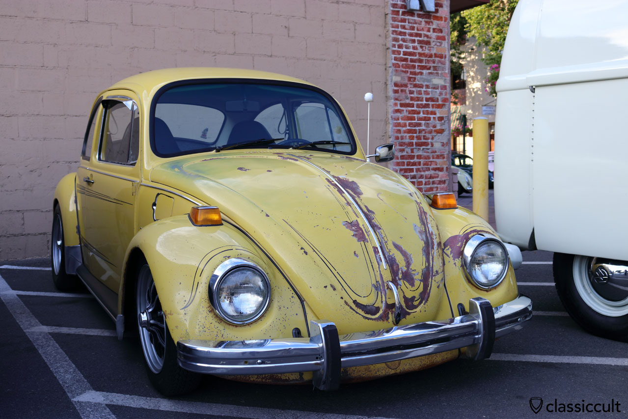 Original unrestored Empi GTV VW Beetle with patina