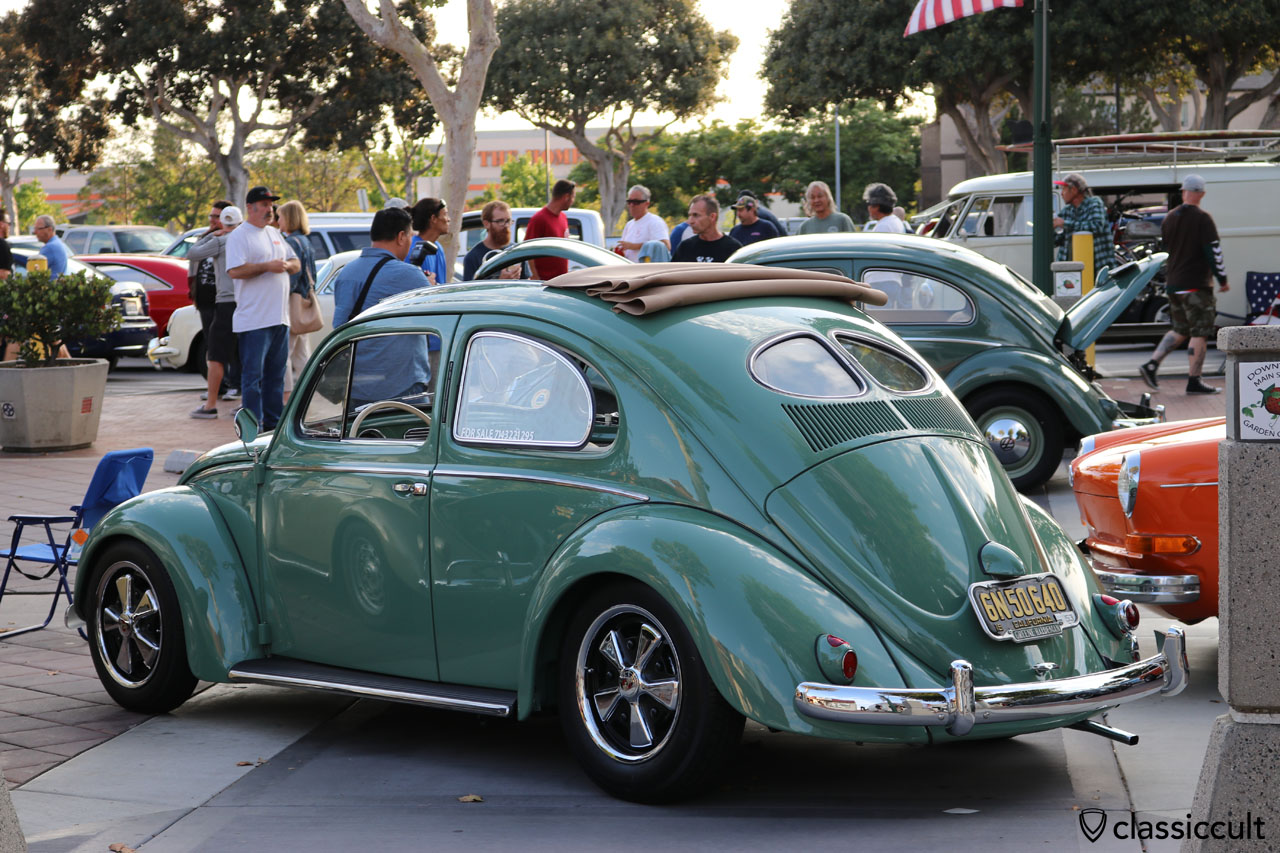 Zwitter Oval Bug with Split rear window and Porsche fuchs wheels
