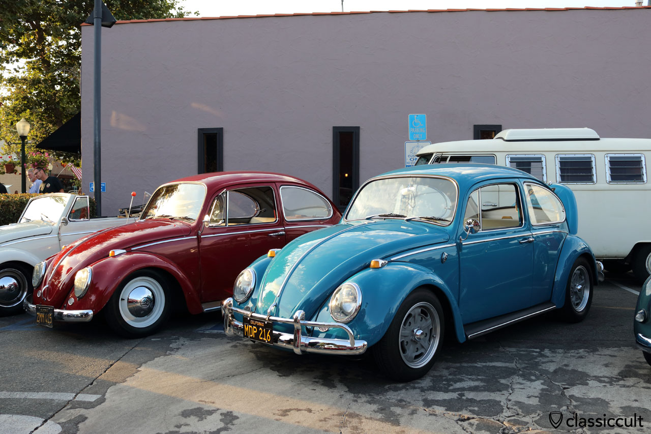red and blue Beetle
