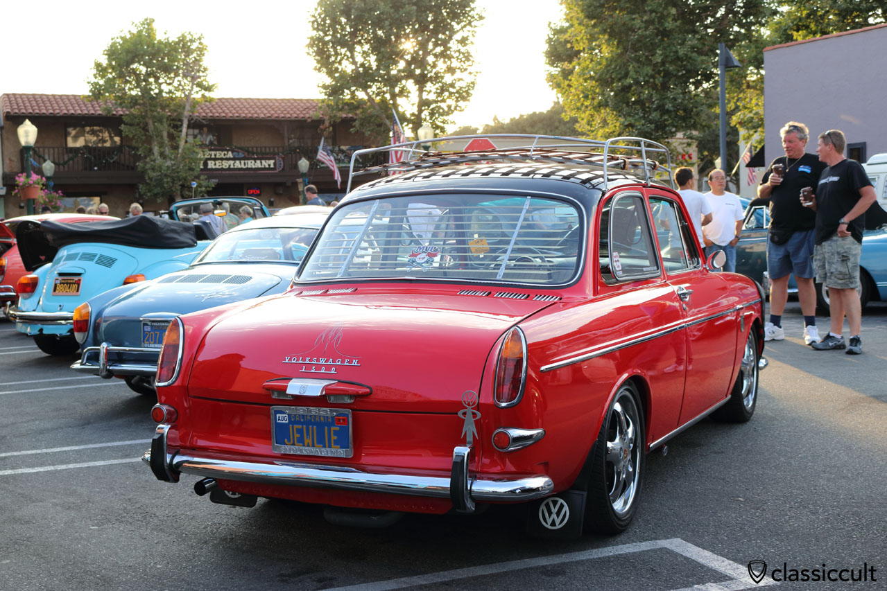 1963 Volkswagen 1500 Type 3 notchback with accessories