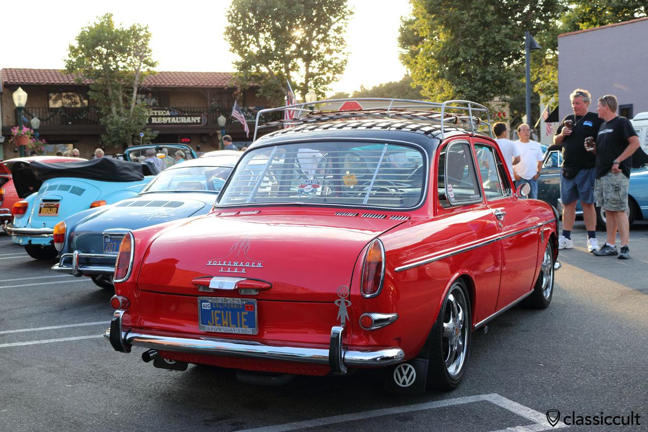 1963 Volkswagen 1500 Type 3 notchback with accessories