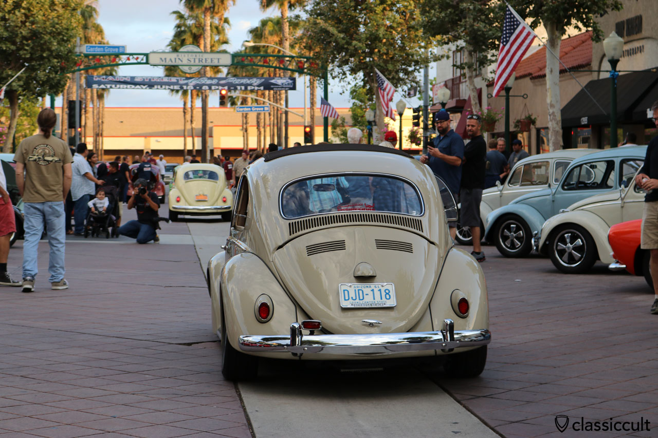 VW Beetle, Main Street, Garden Grove, CA, June 10th, 2016