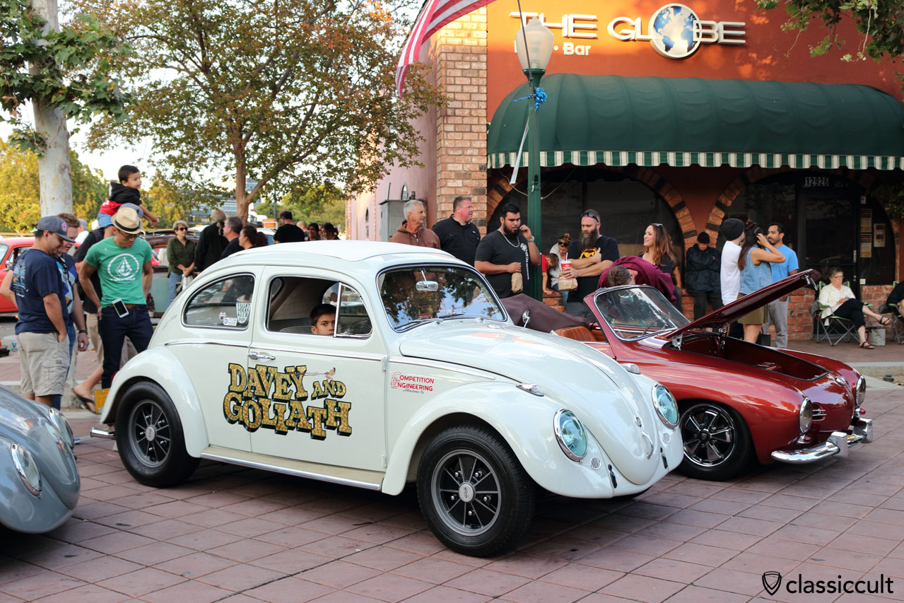 Davey amd Goliath VW Beetle, Valley Volks Klub