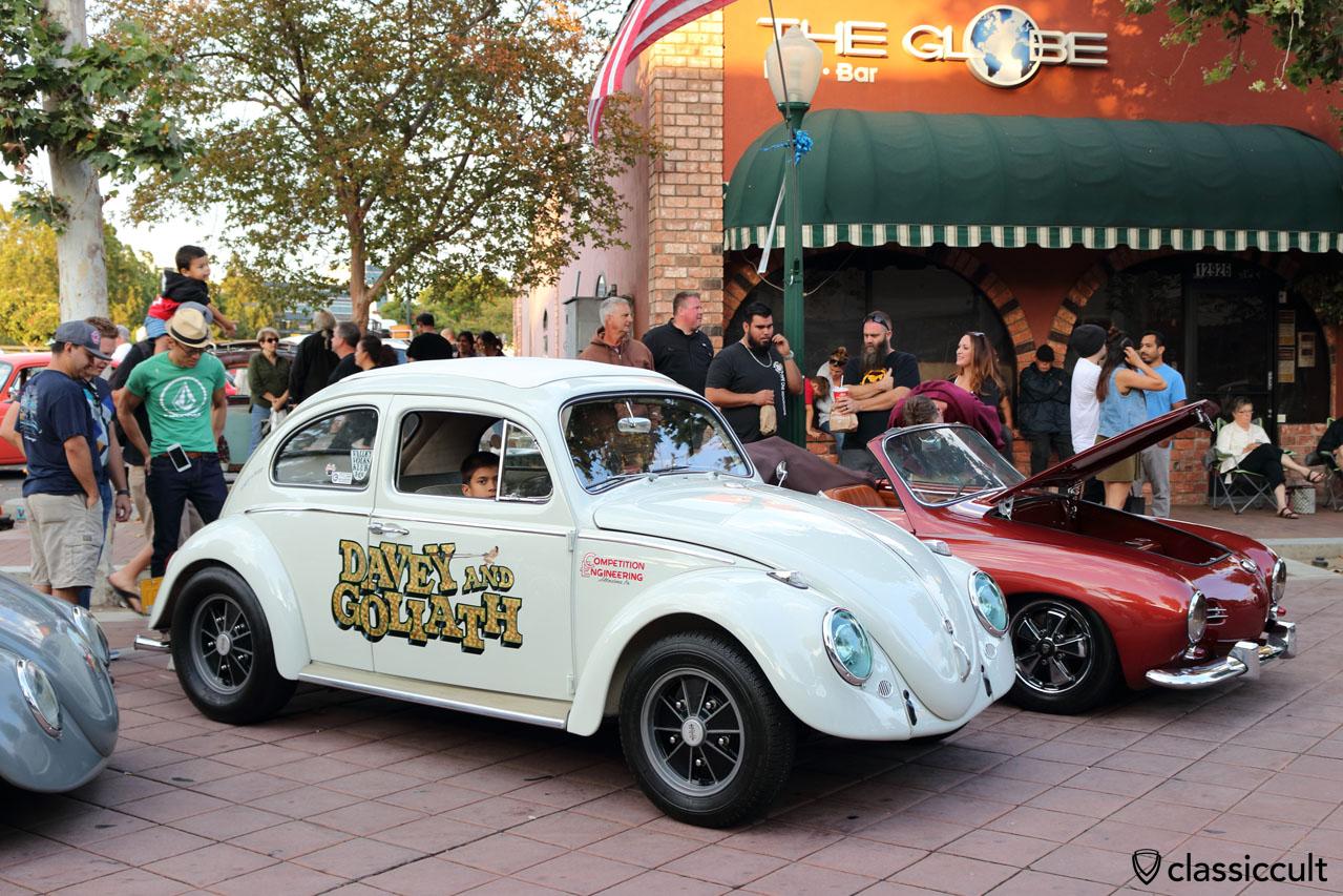 Davey amd Goliath VW Beetle, Valley Volks Klub