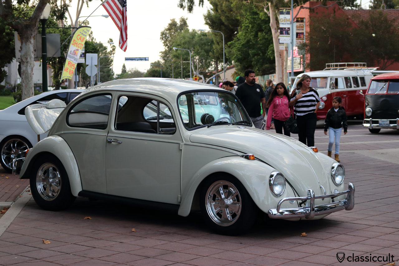 Beetle with fuchs wheels