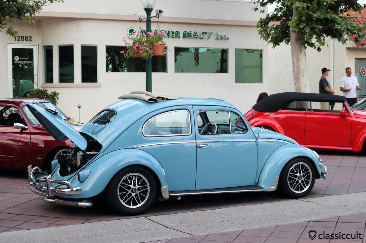 blue Ragtop Oval Bug