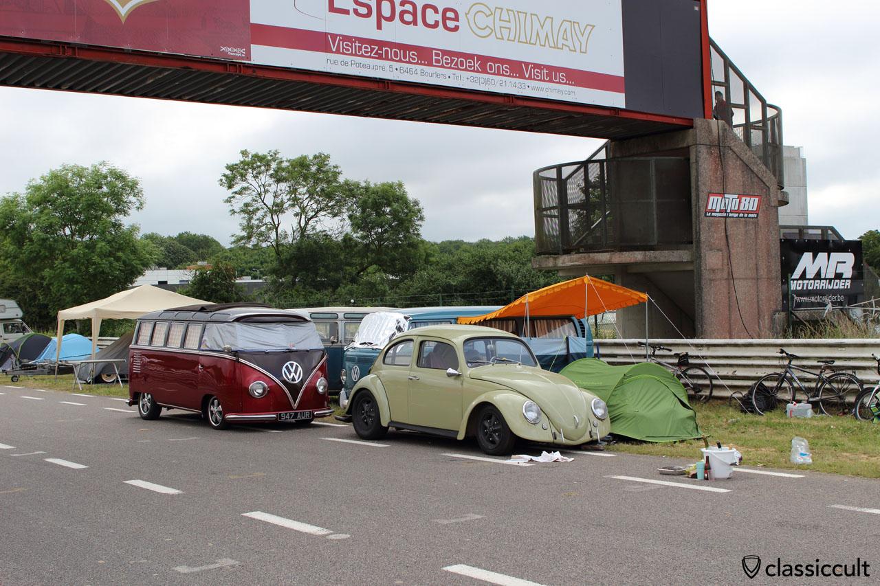 California look VW Beetle with Talbot mirror, EBI6 VW Show