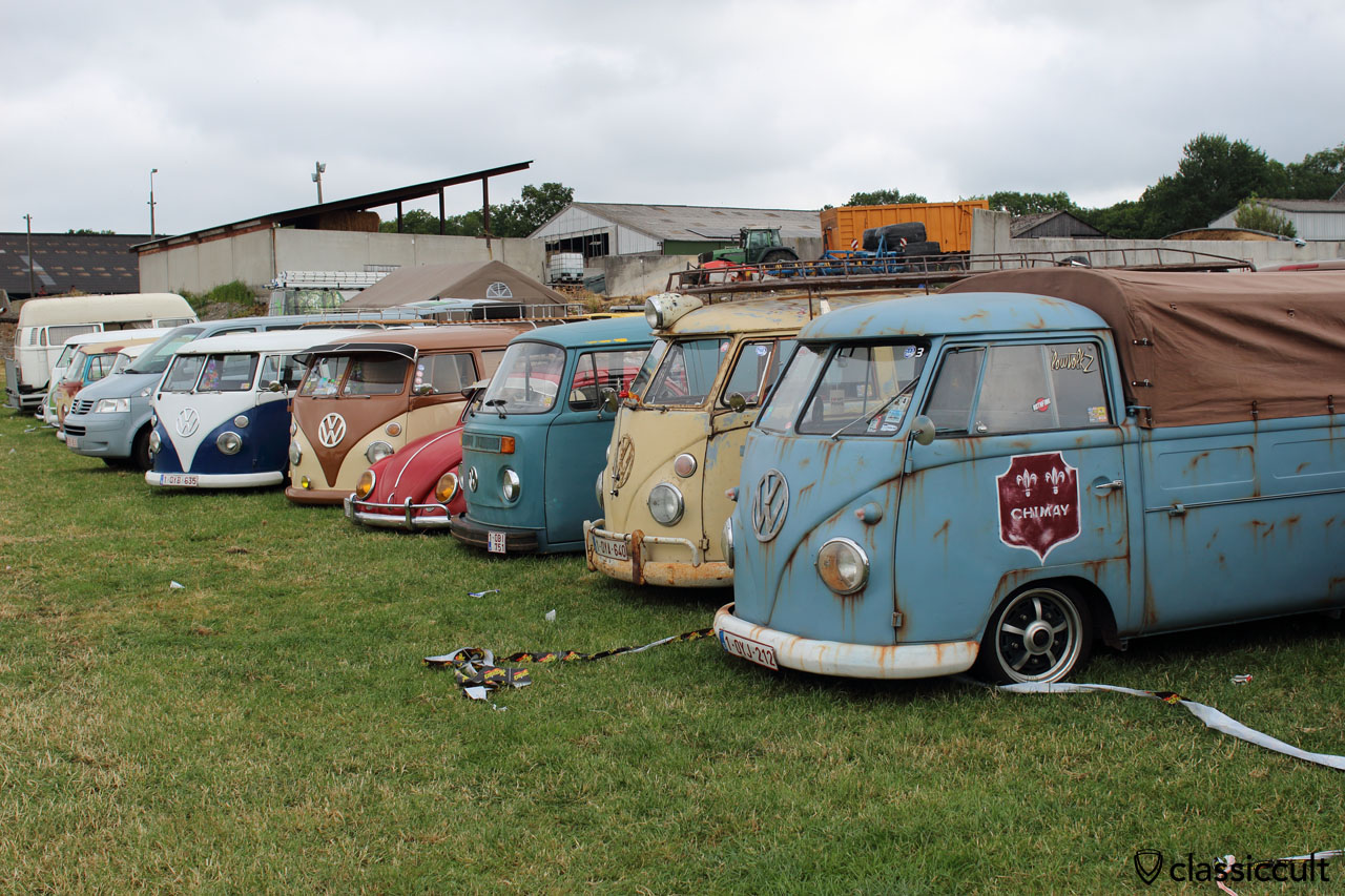 Camping at European Bug-In 6, Chimay 2015, 9:05 a.m.