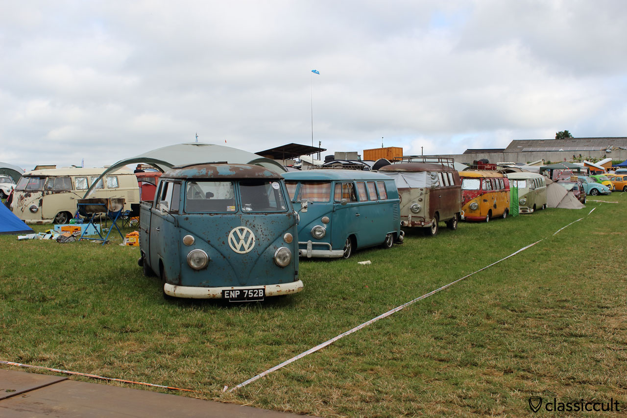 VW Split Camping, EBI #6, Chimay 2015