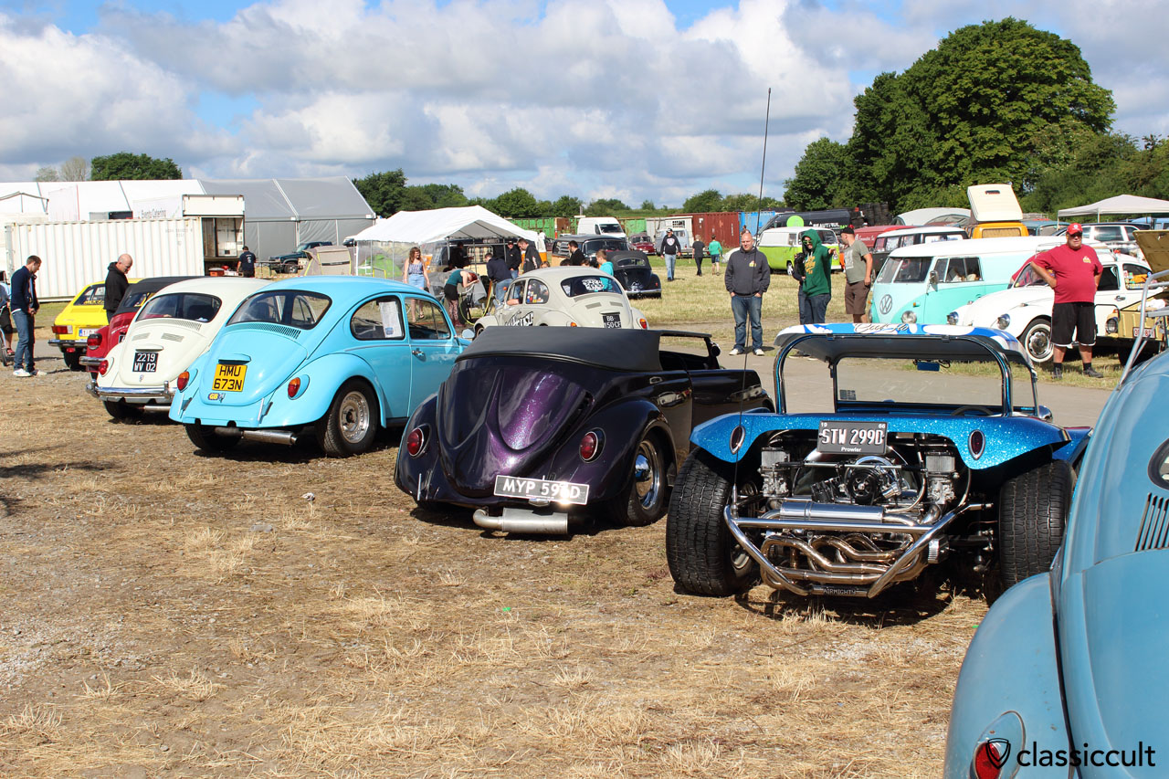 VWs at European BugIn