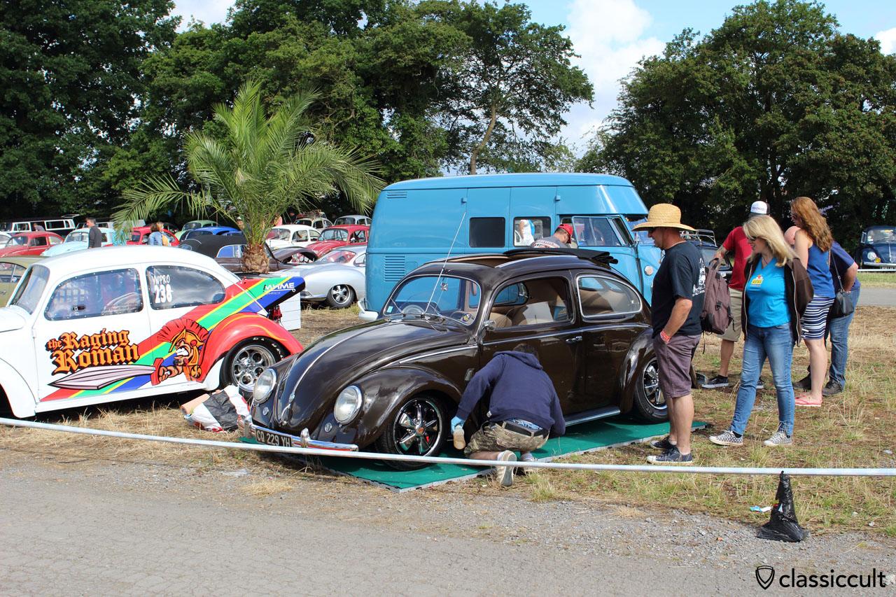 VW Ragtop Split Beetle, EBI 6 Show and Shine