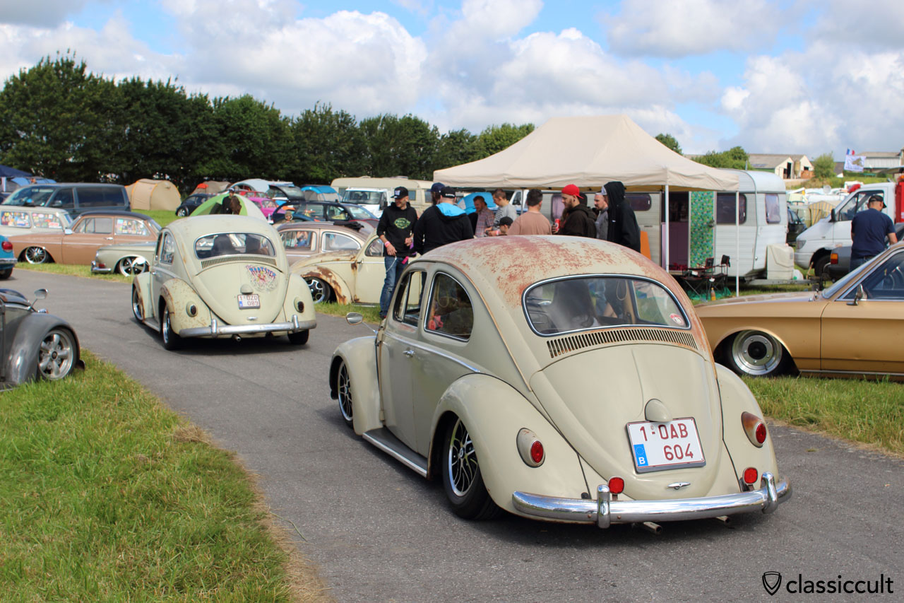 lowered VW Beetles, EBI, Chimay 2015