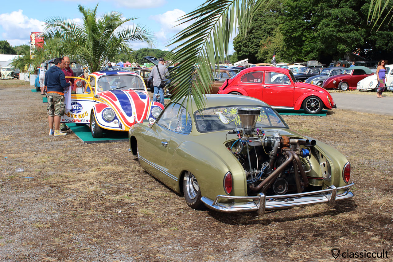 low VW Karmann-Ghia (Typ 14) with power engine