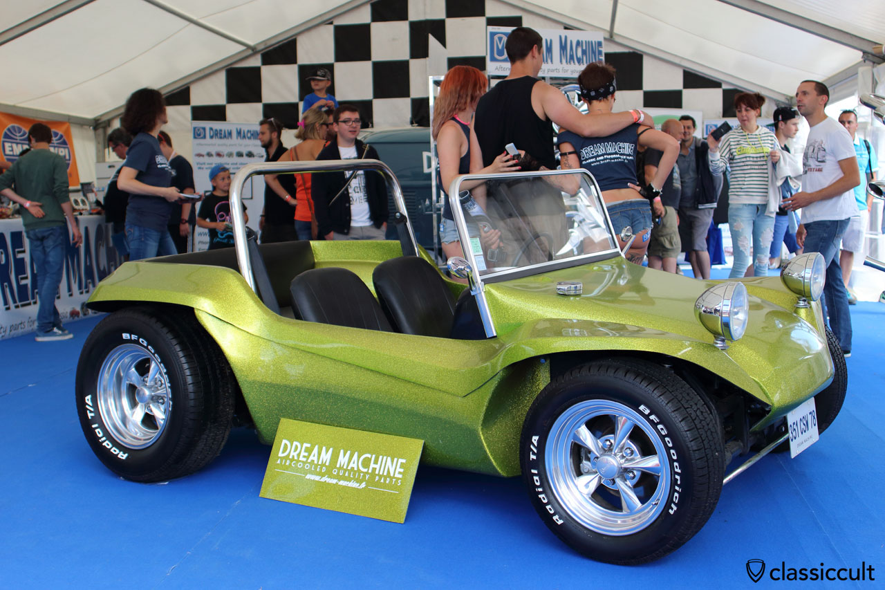 VW Buggy, Dream Machine aircooled parts