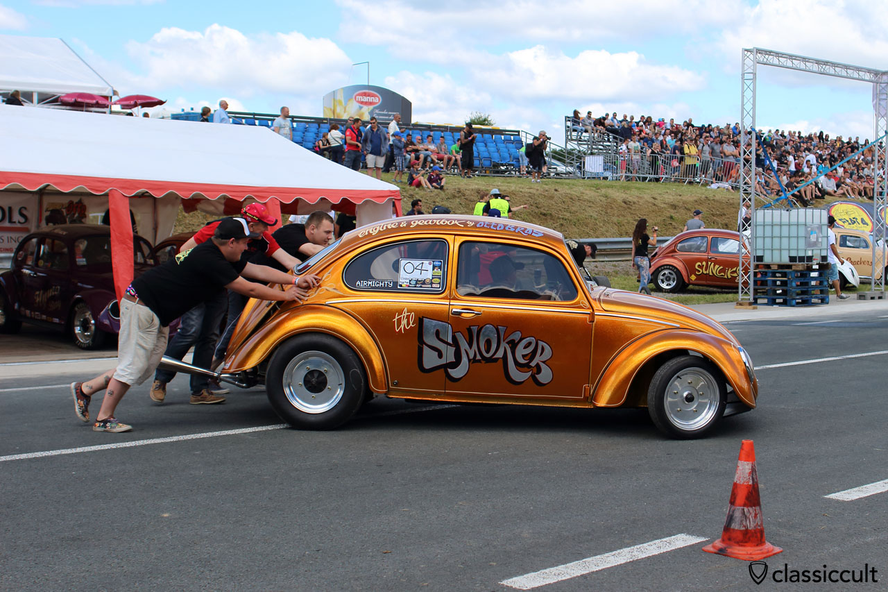 the SMOKER VW Race Beetle, European Bug-In 2015