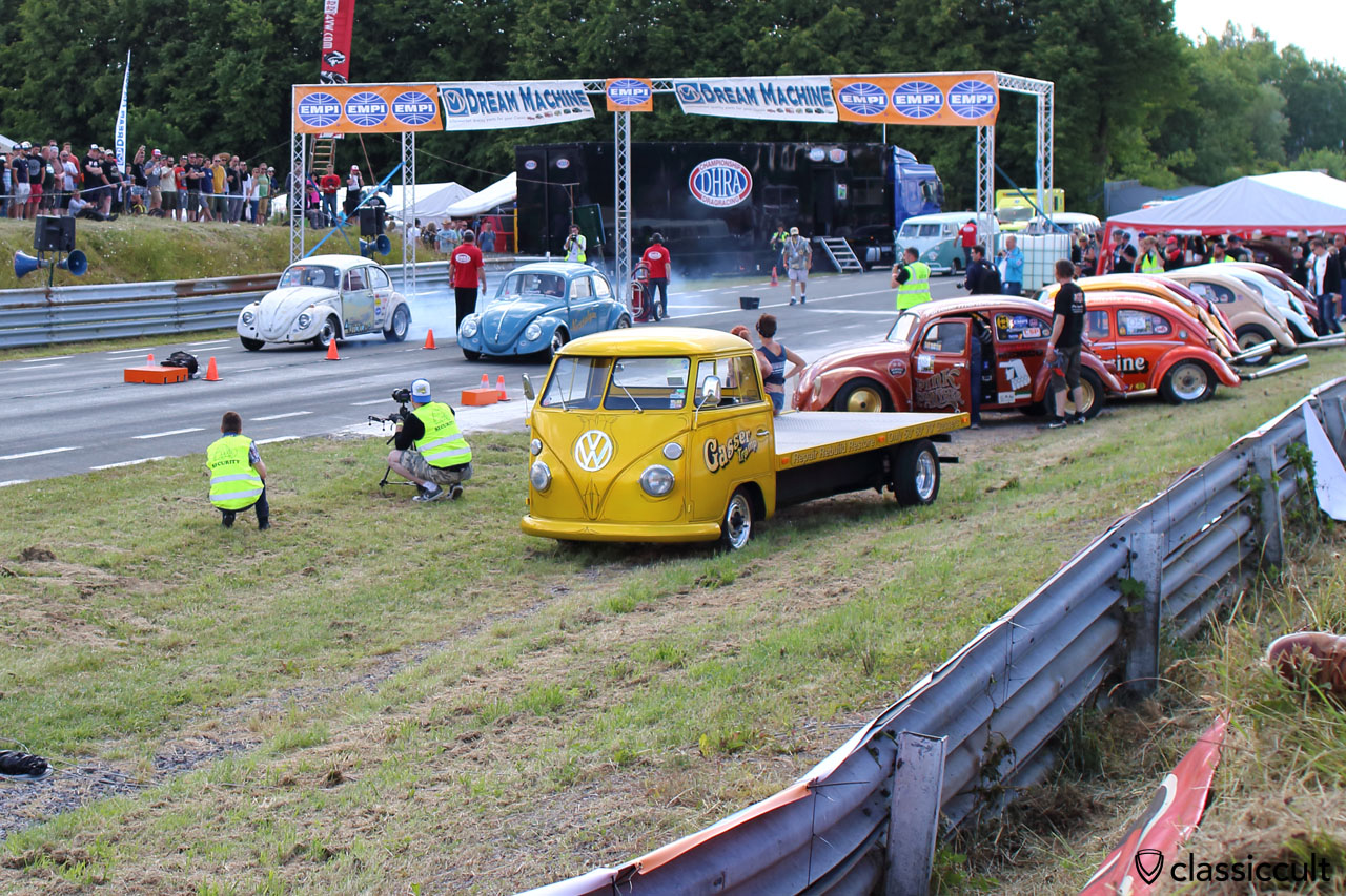 European Bug-In 2015 drag racing