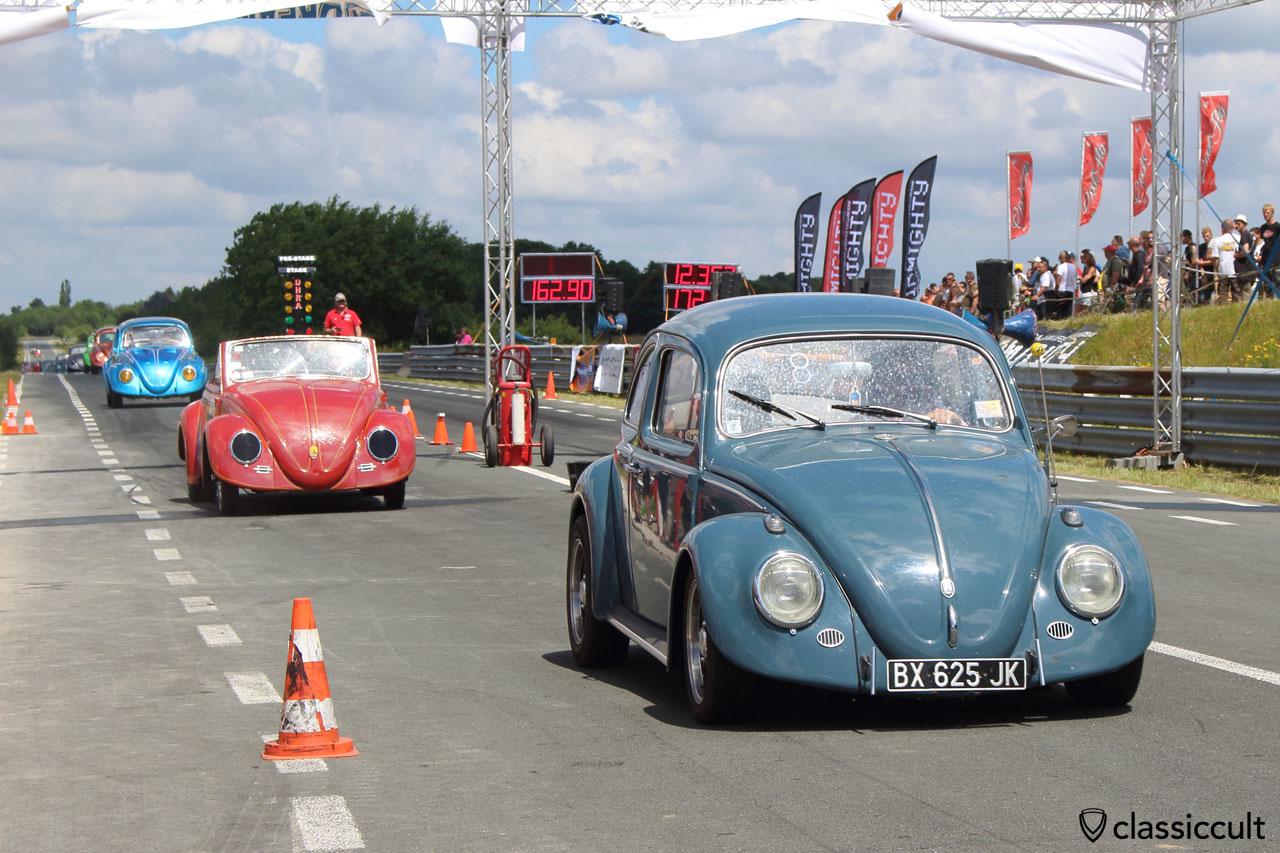 VW Bug, VW Hebmüller, Chimay Race Track