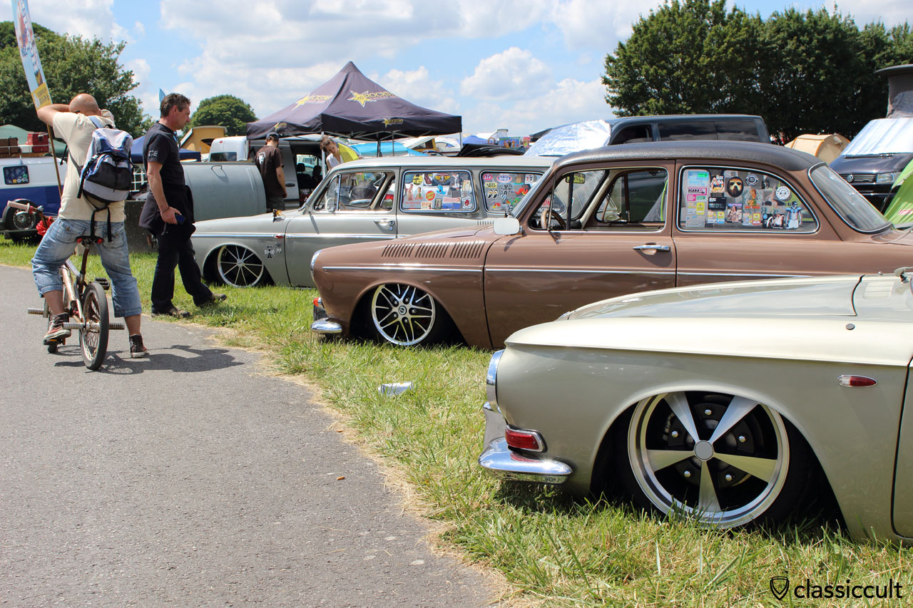 lowered VW Type 3
