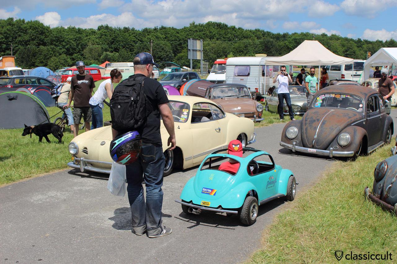 Johnny's Speed & Chrome Mini VW Beetle for Kids