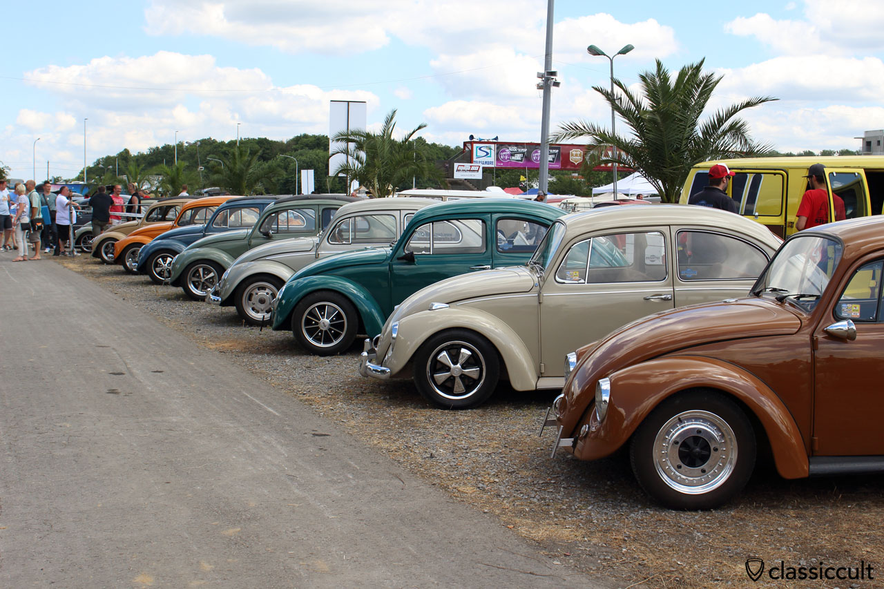 VW Beetle Show & Shine, European Bug-In 2015