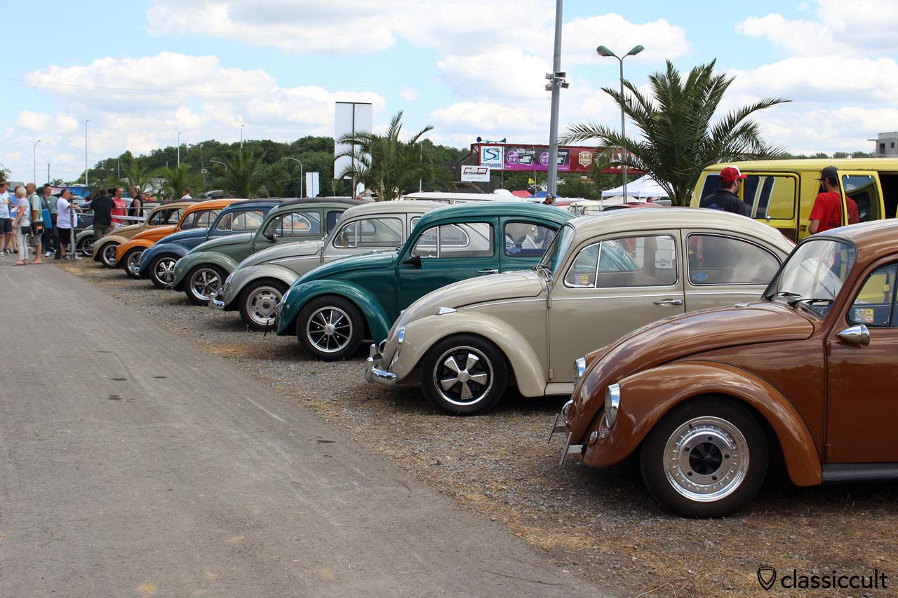 VW Beetle Show & Shine, European Bug-In 2015