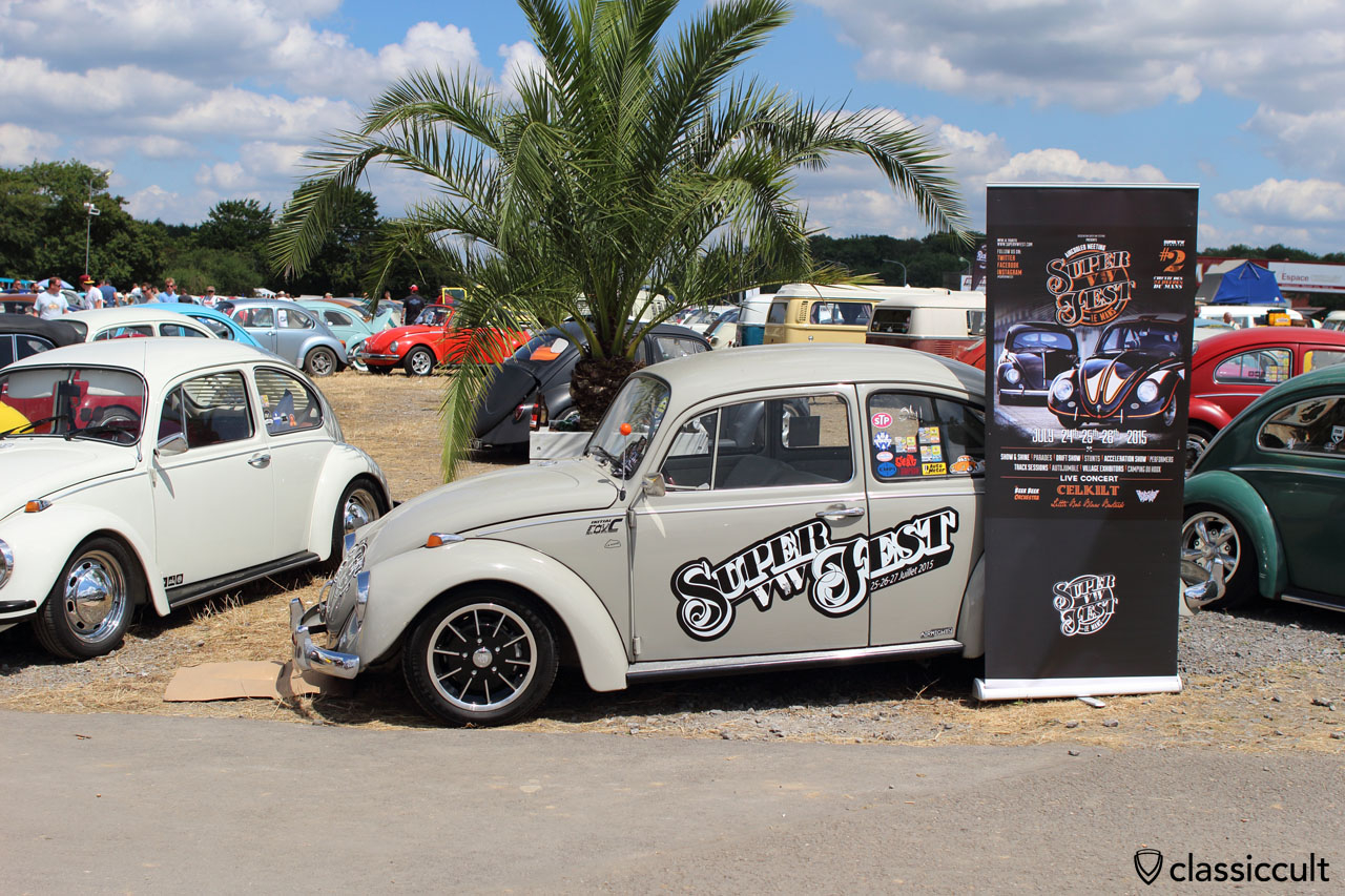 Super VW Fest #2 2015 advertisement VW Beetle
