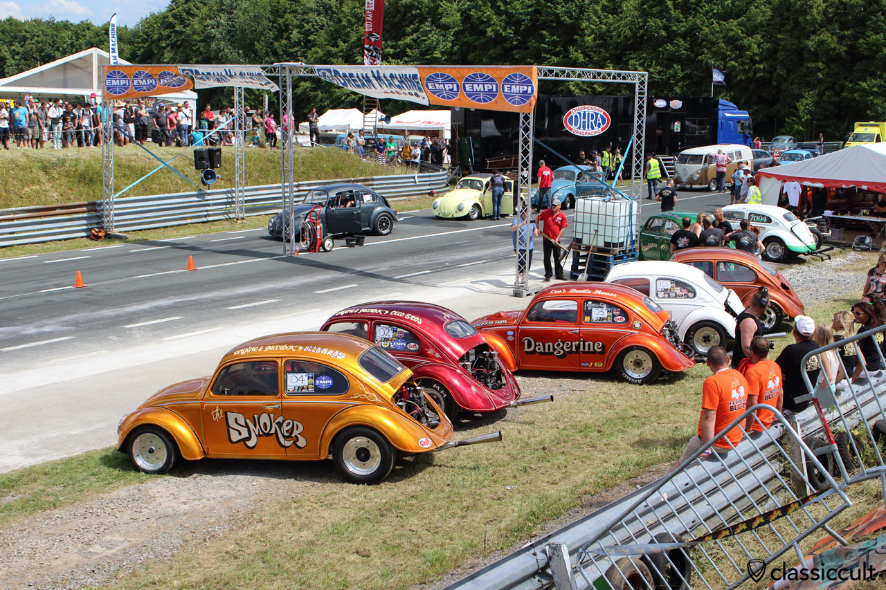 The Chimay Race Track, European Bug-In