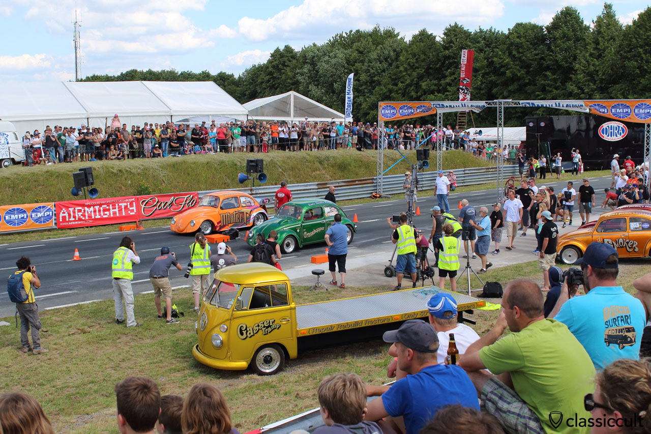 The Grasshopper Otto Bros and Mister T VW Beetle, Chimay Race Track, EBI 6