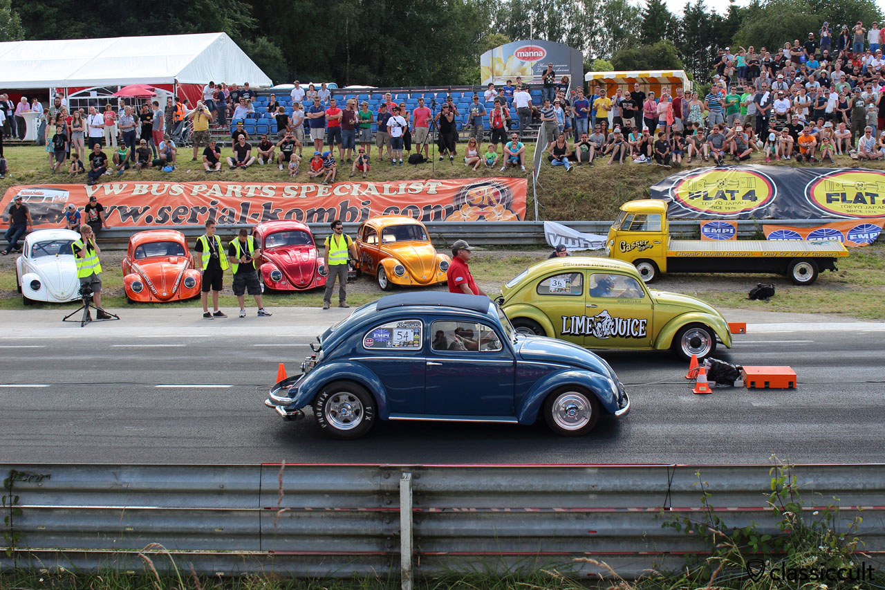 Lime Juice Race Bug, blue Ragtop Race Oval, EBI Chimay 2015