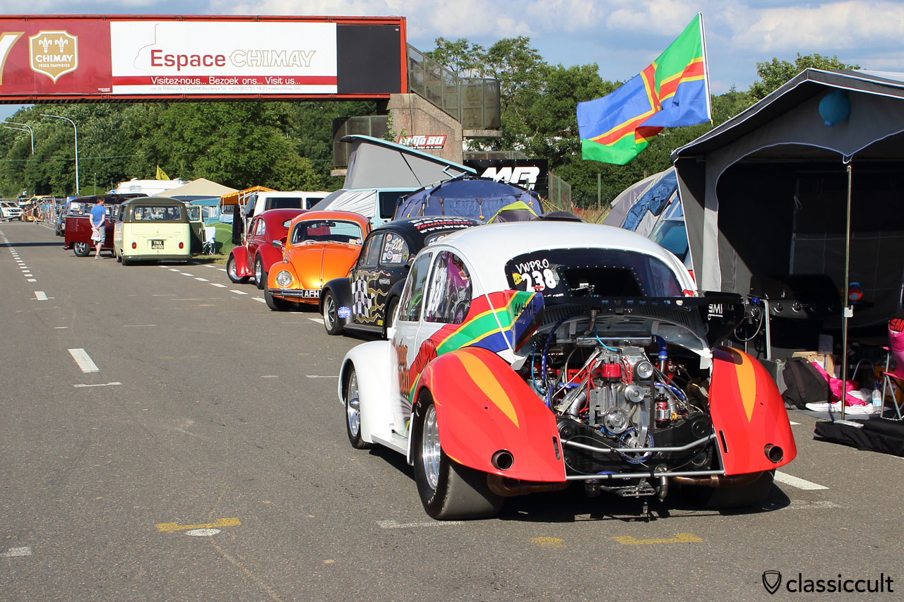 Drag Race Beetle, EBI Chimay 2015