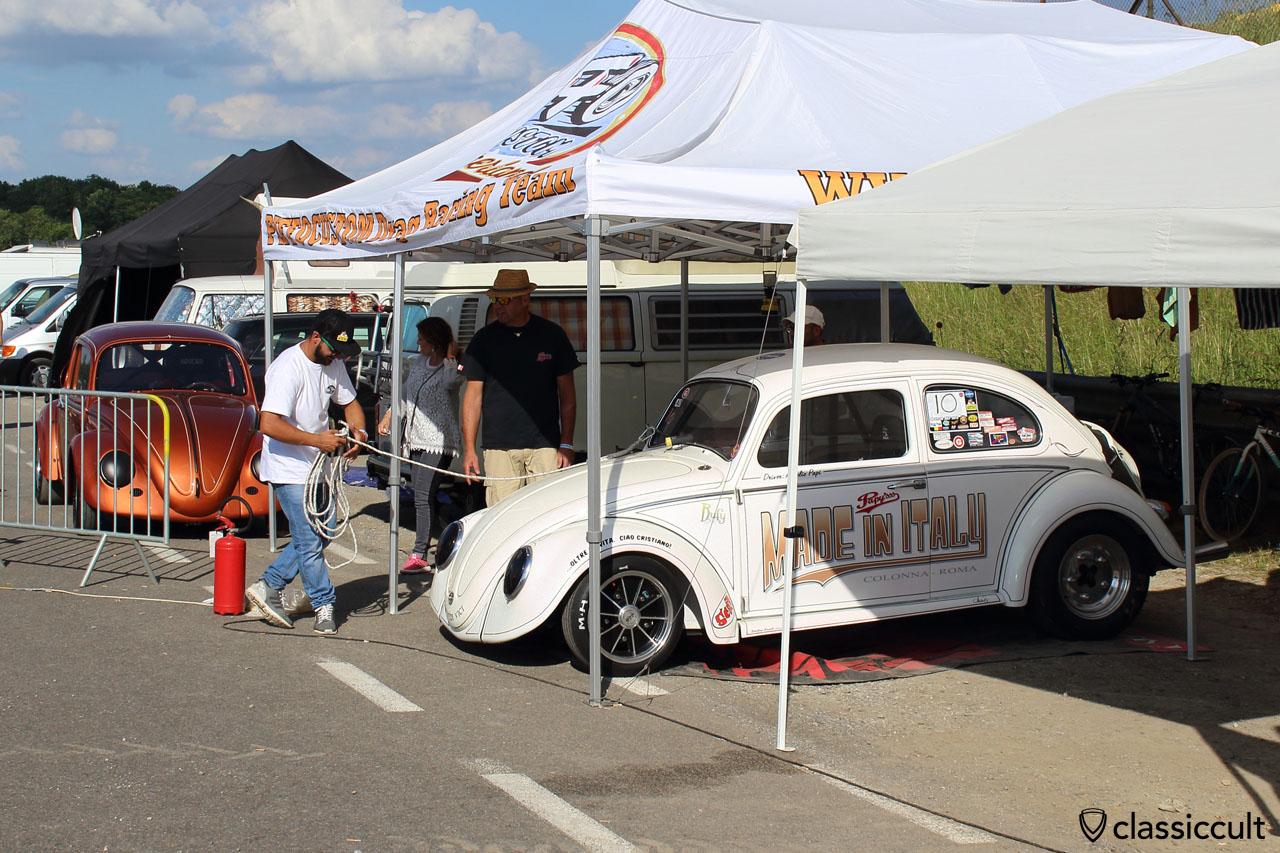 VW Drag Race Maggiolino, Made in Italy Colonna Roma