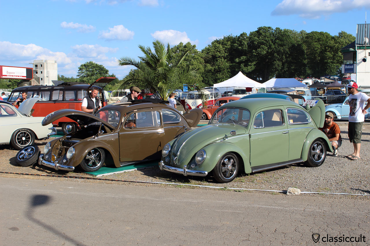 VW Beetles, Show and Shine