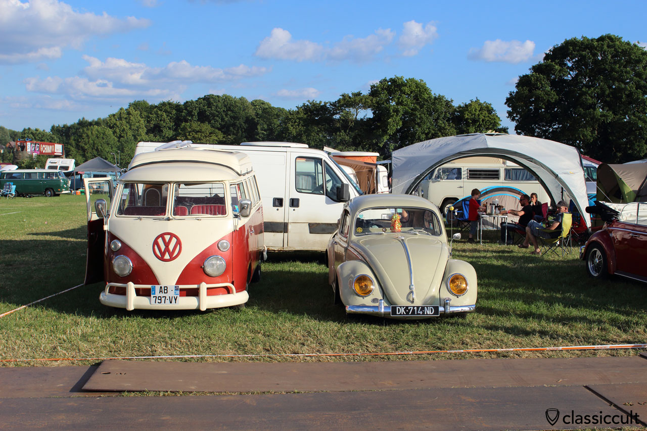 Camping at European Bug-In 2015