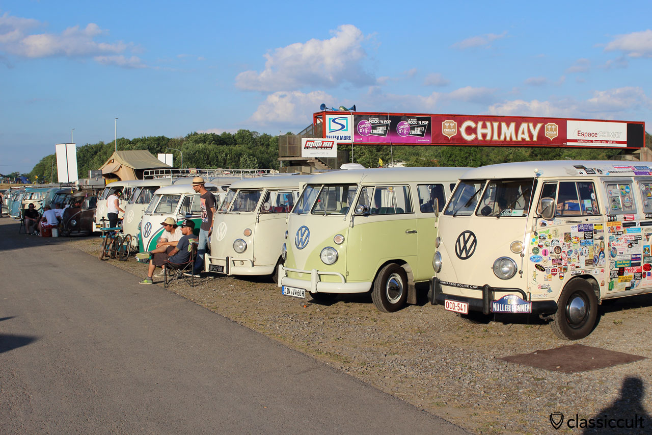 VW Split Bus line, EBI 2015
