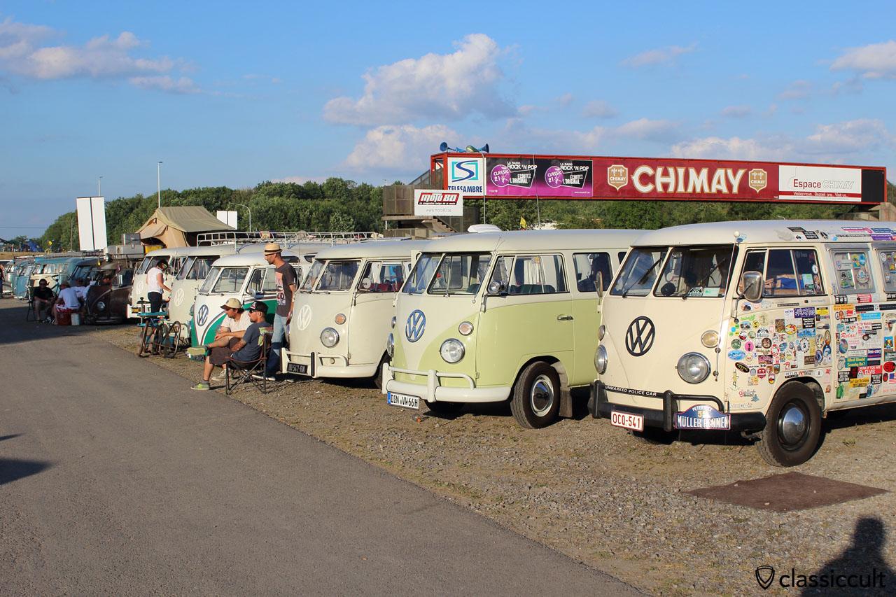 VW Split Bus line, EBI 2015