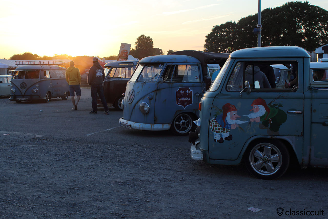 Sunset at European Bug-In 2015