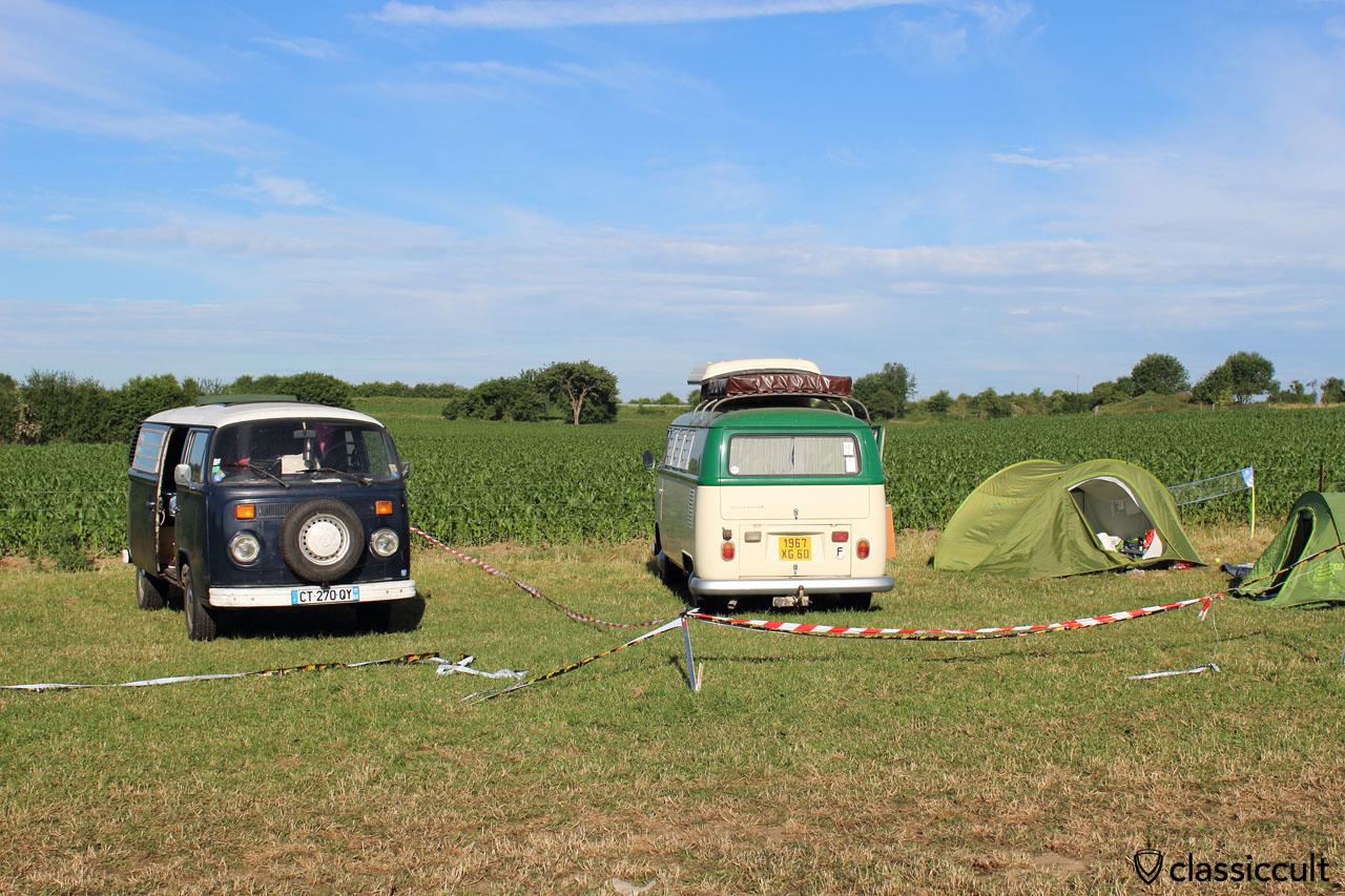 Camping at EBI 6 2015