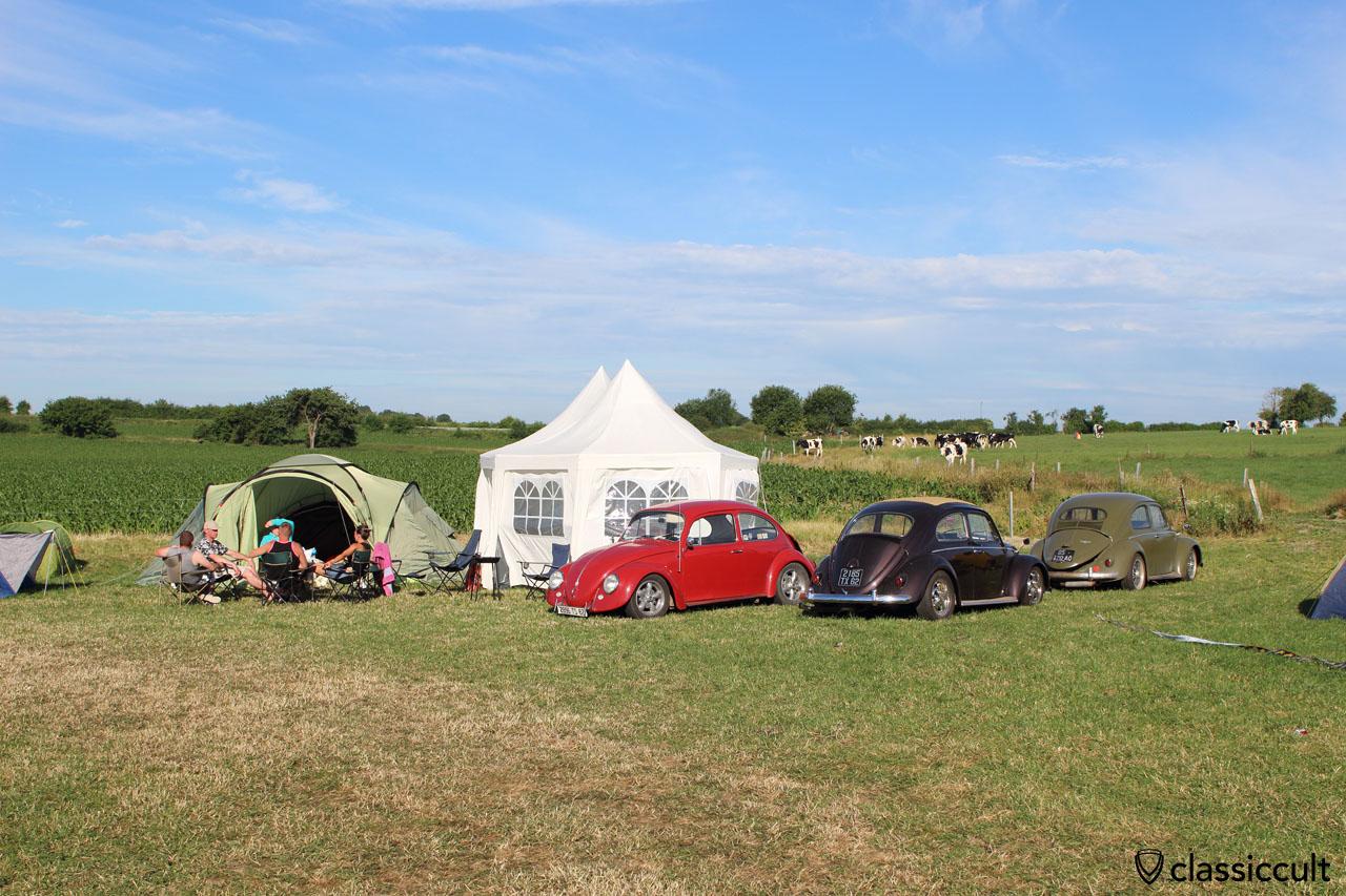 Camping at EBI6