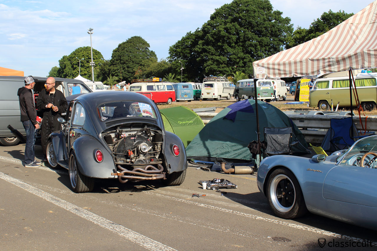 Drag Race VW Beetle