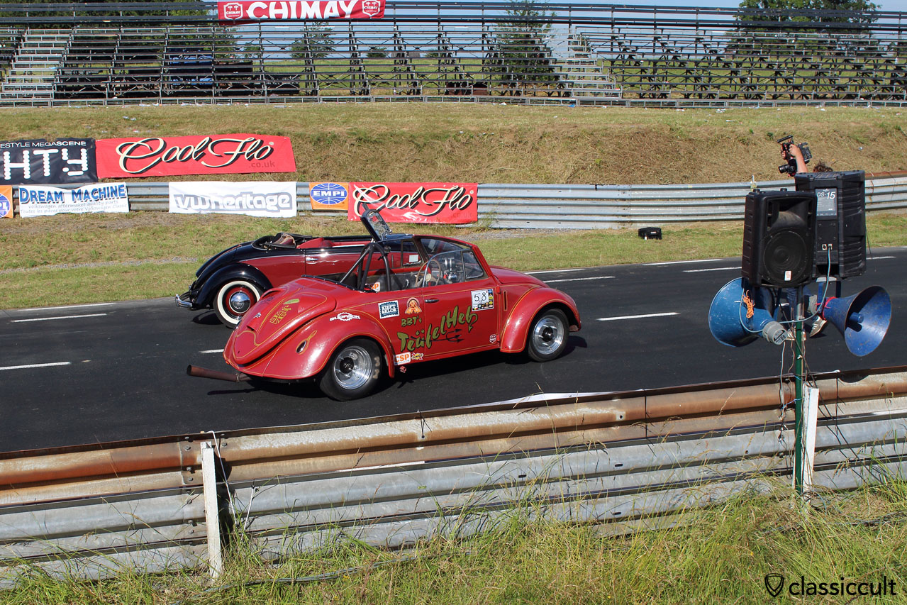 VW Hebmüller shooting at the Chimay Race Track, EBI 2015