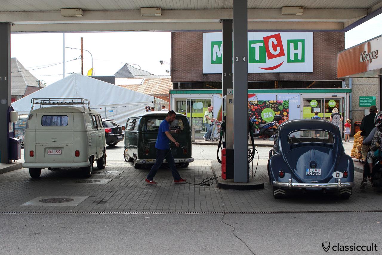 Goodbye EBI 2015, Chimay fuel station, 12:10 p.m